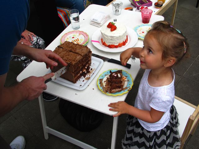 Chocolate cake / Chocoladetaart // VAN BRITT