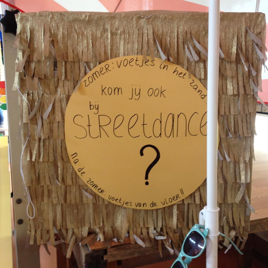 Info stand op de open dag van basisschool De Regenboog // VAN BRITT