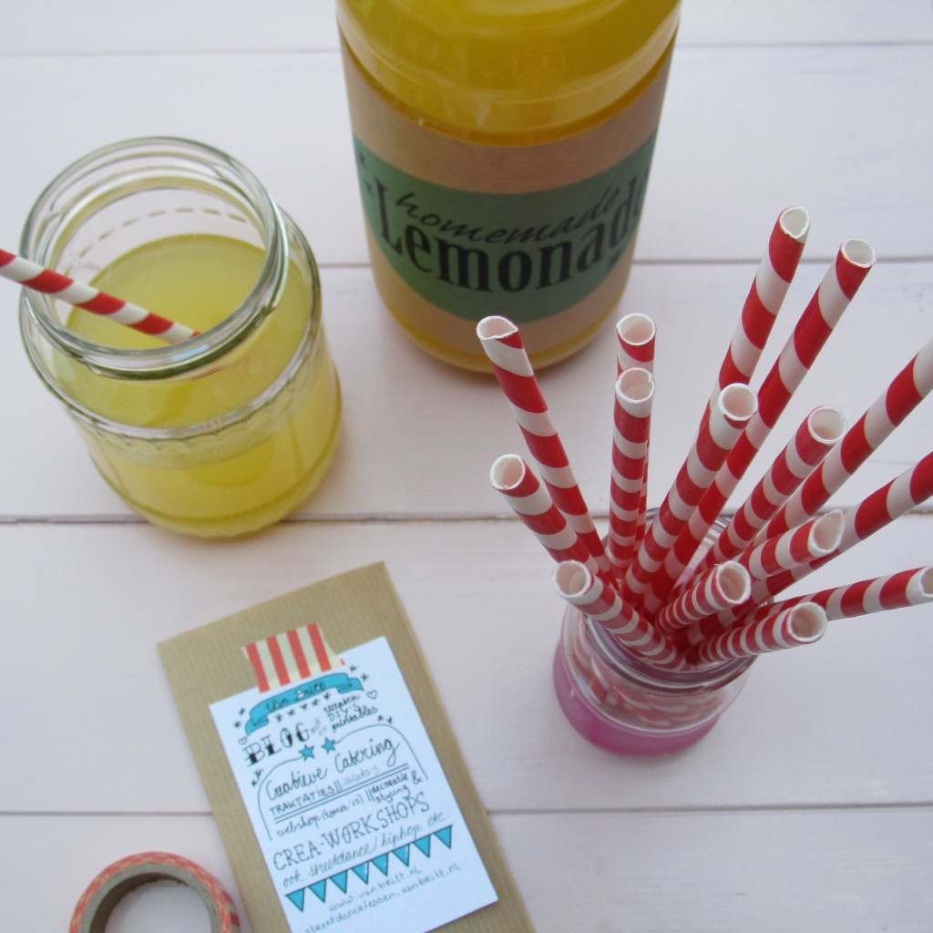 Drinks for summer, lemonade / Zomerse drankjes, lemonade, limonade // VAN BRITT