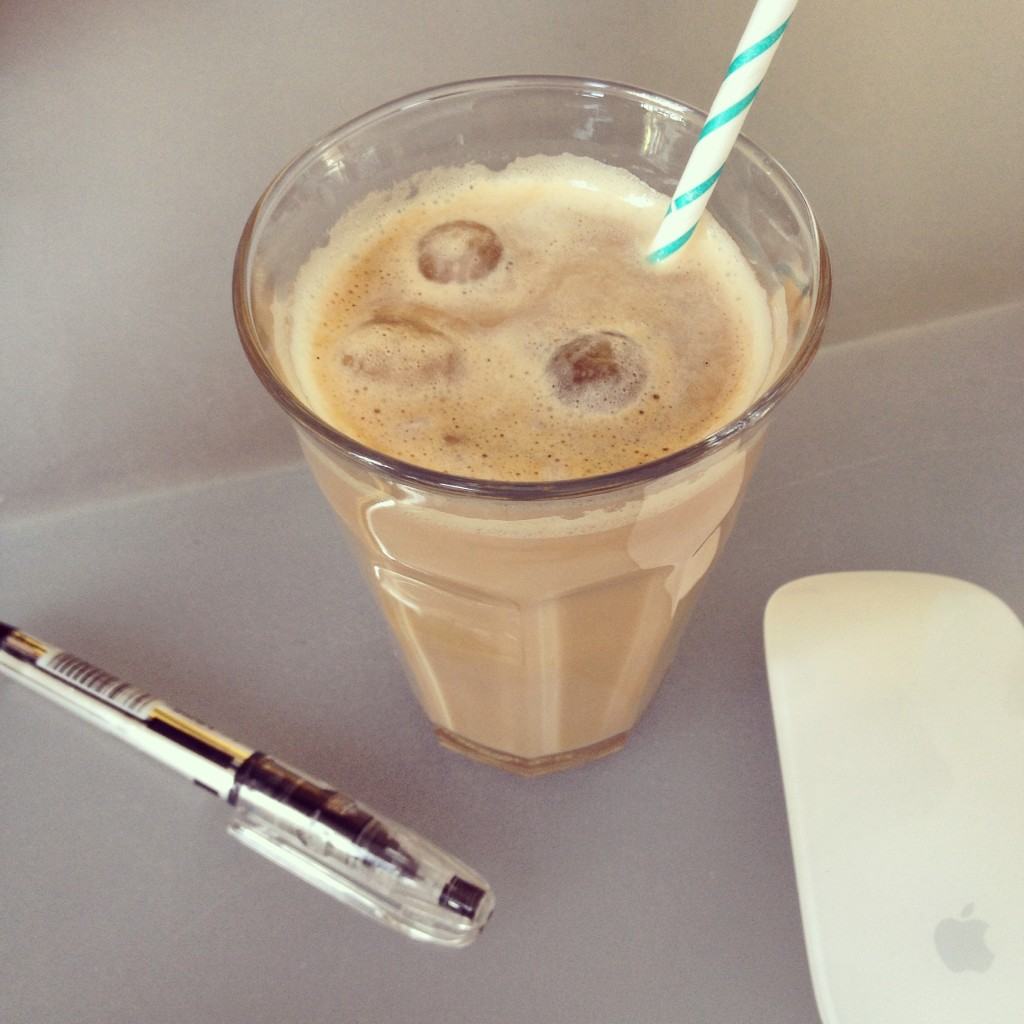 Drinks for summer, iced coffee / Zomerse drankjes, ijskoffie // VAN BRITT