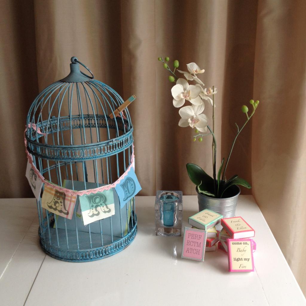 Wedding, pastel, birdcage / Bruiloft, pastel, vogelkooi // VAN BRITT