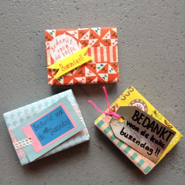Matchbox gift cards DIY / Luciferdoosje, kaartje, cadeautje, DIY // VAN BRITT