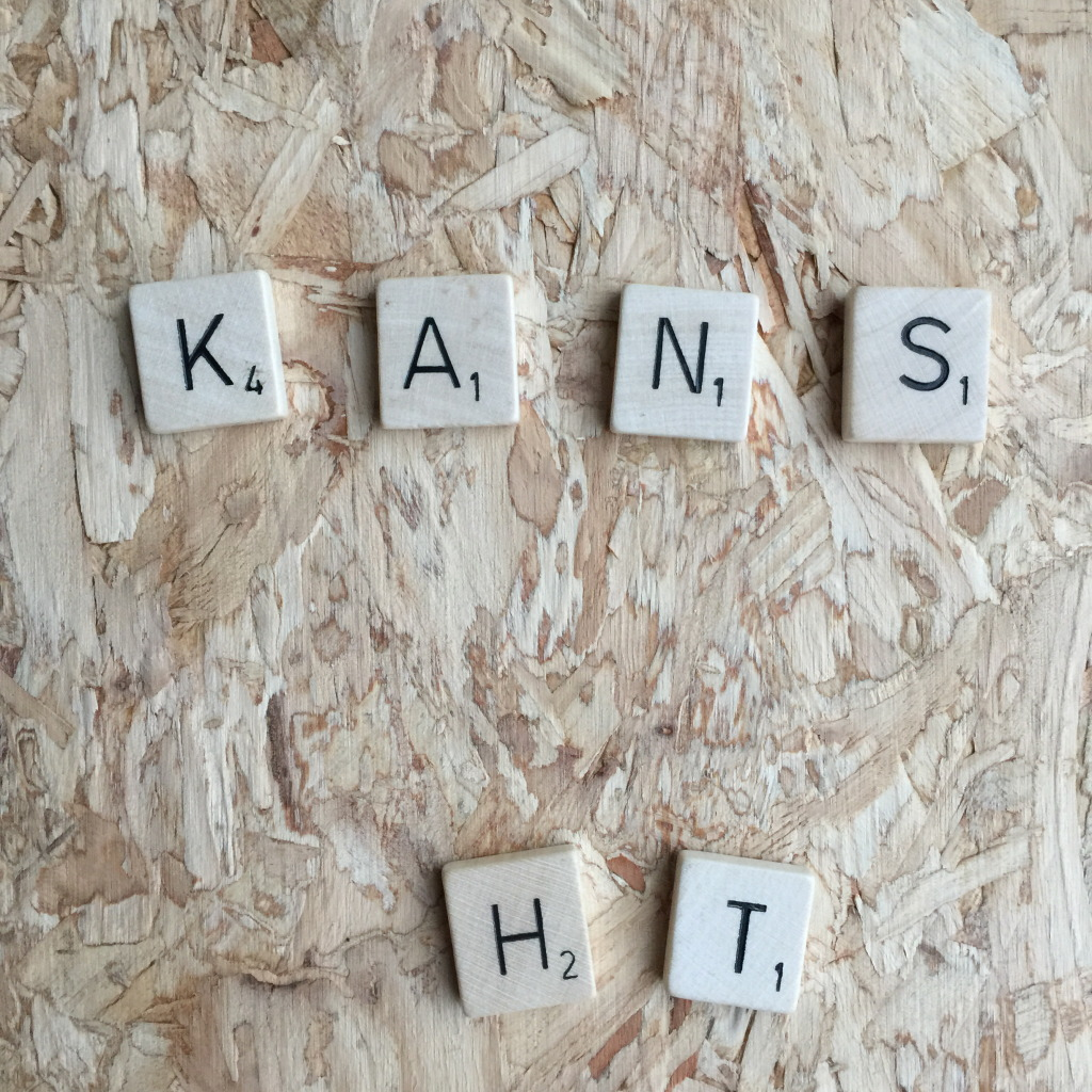Kans, Scrabble letters // VAN BRITT