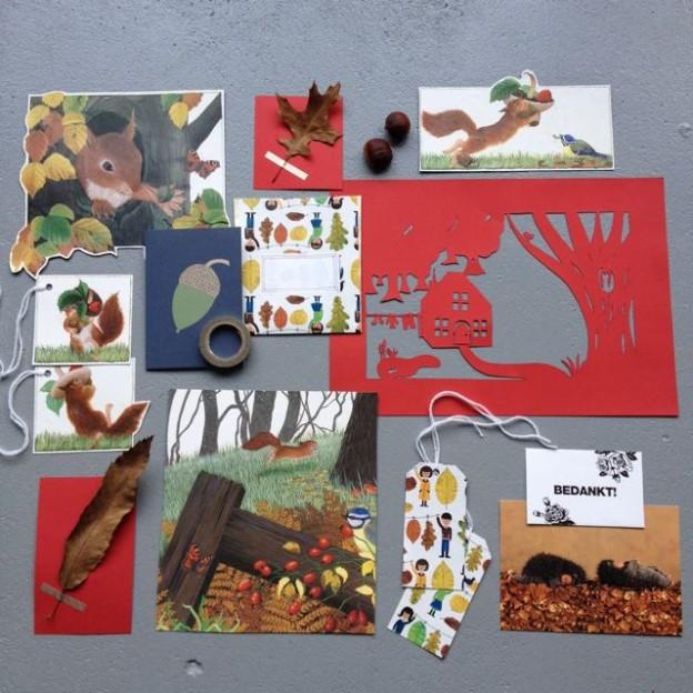 Autumn, fall, Mail on Monday # 27, snailmail, postcrossing / Herfst snailmail // VAN BRITT