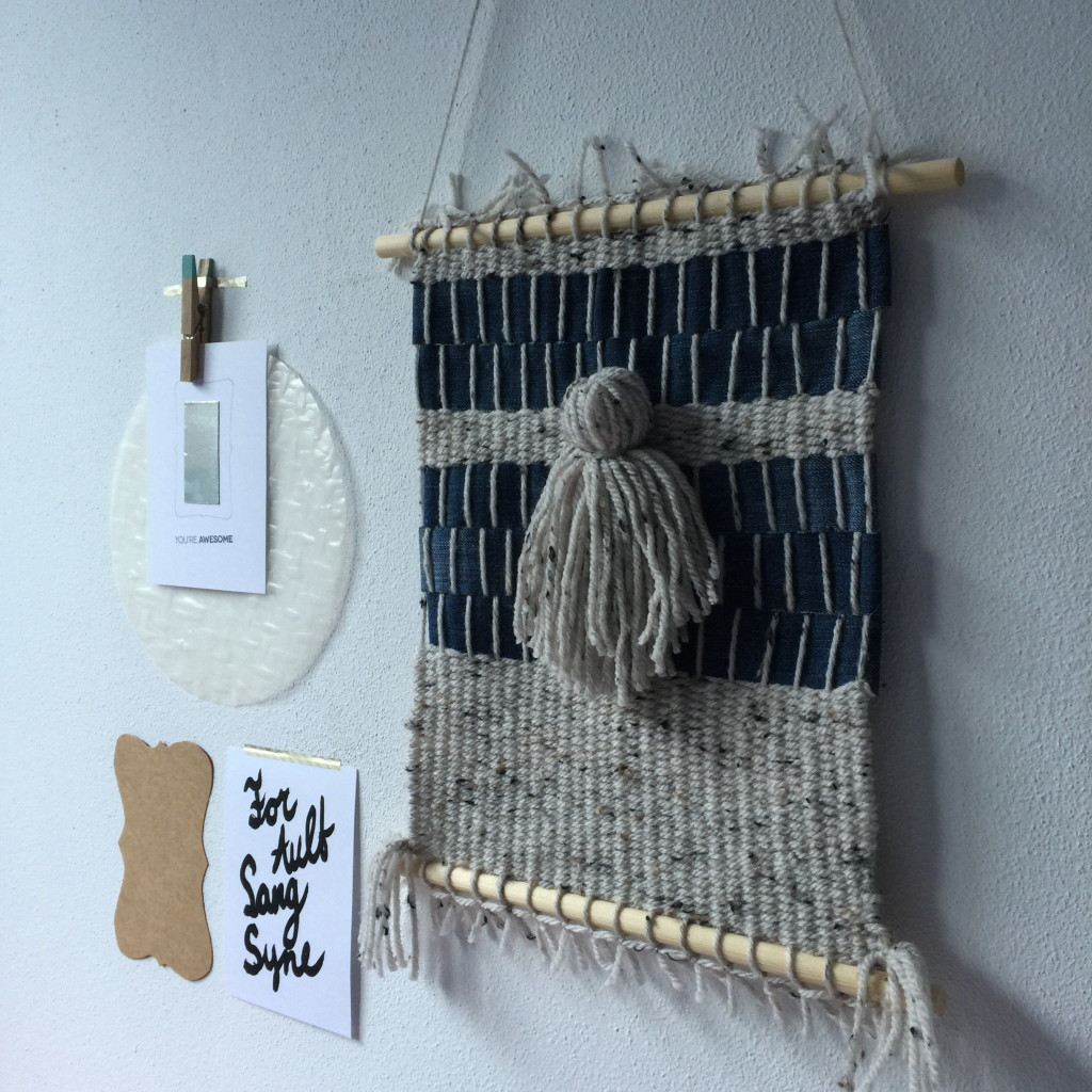 Weaving, decoration / Geweven wanddecoratie // VAN BRITT