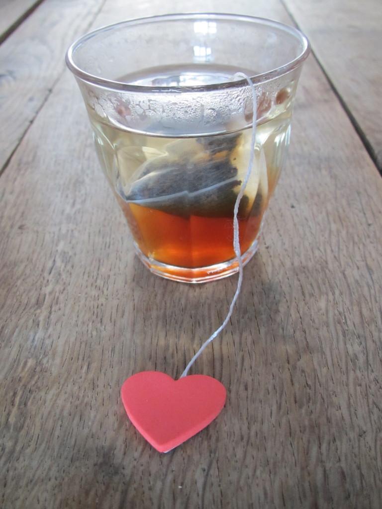 Tea with love, Valentine's Day / thee met liefde, Valentijnsdag, Valentijn // VAN BRITT