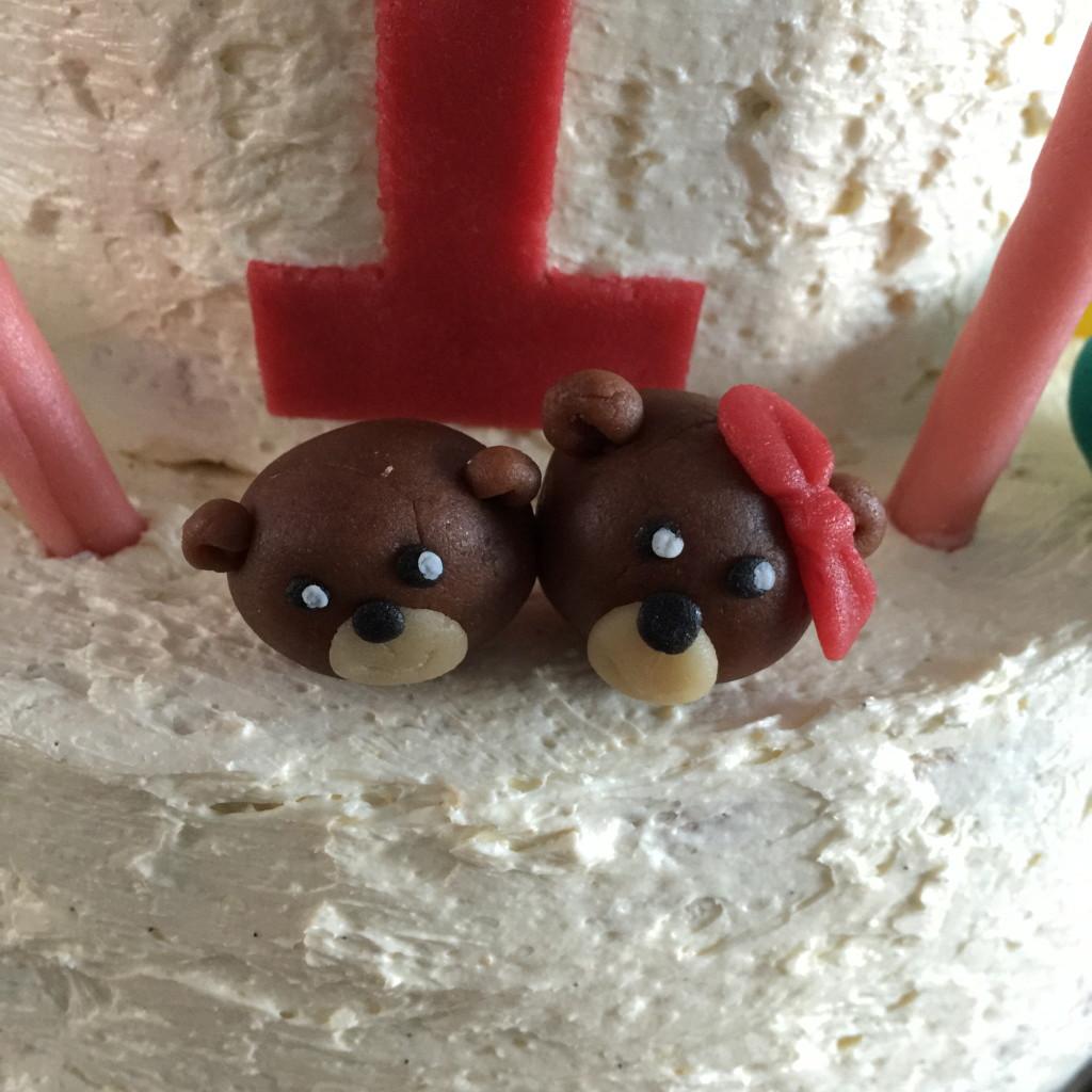 Bear, Noah's Arc, cake / Beer, Ark van Noach, taart, taart decoratie // VAN BRITT
