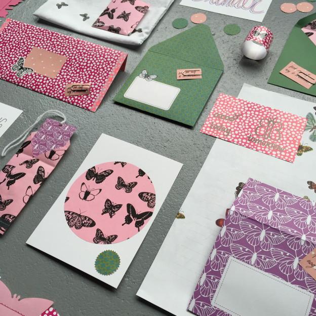Mail on Monday # 29, snailmail, postcrossing, butterfly, butterflies / Mail on Monday # 29, leuke post, echte post, vlinders // VAN BRITT