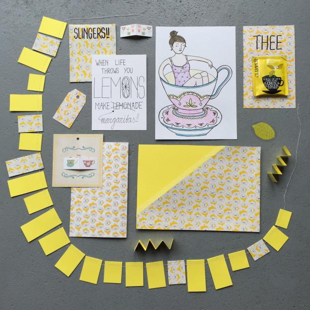 Mail on Monday # 31, snailmail, tea inspired postcrossing / Mail on Monday nummer 31, thee thema, echte post // VAN BRITT
