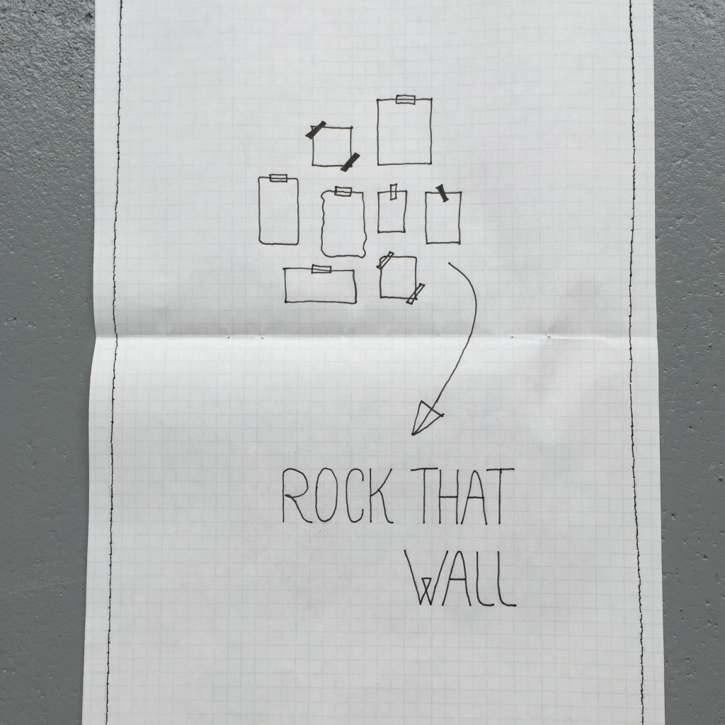 Gift idea: rock that wall giftset / Cadeau idee: rock that wall pakketje, diy, crafts // VAN BRITT
