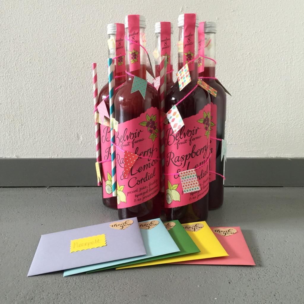Belvoir cordial as a gift / Cadeau-dee, cadeautip, Belvoir siroop als cadeautje // VAN BRITT