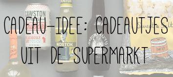 CADEAU-IDEE CADEAUTJES UIT DE SUPERMARKT
