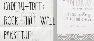 CADEAU-IDEE ROCK THAT WALL PAKKETJE