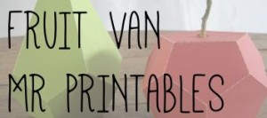 FRUIT VAN MR PRINTABLES