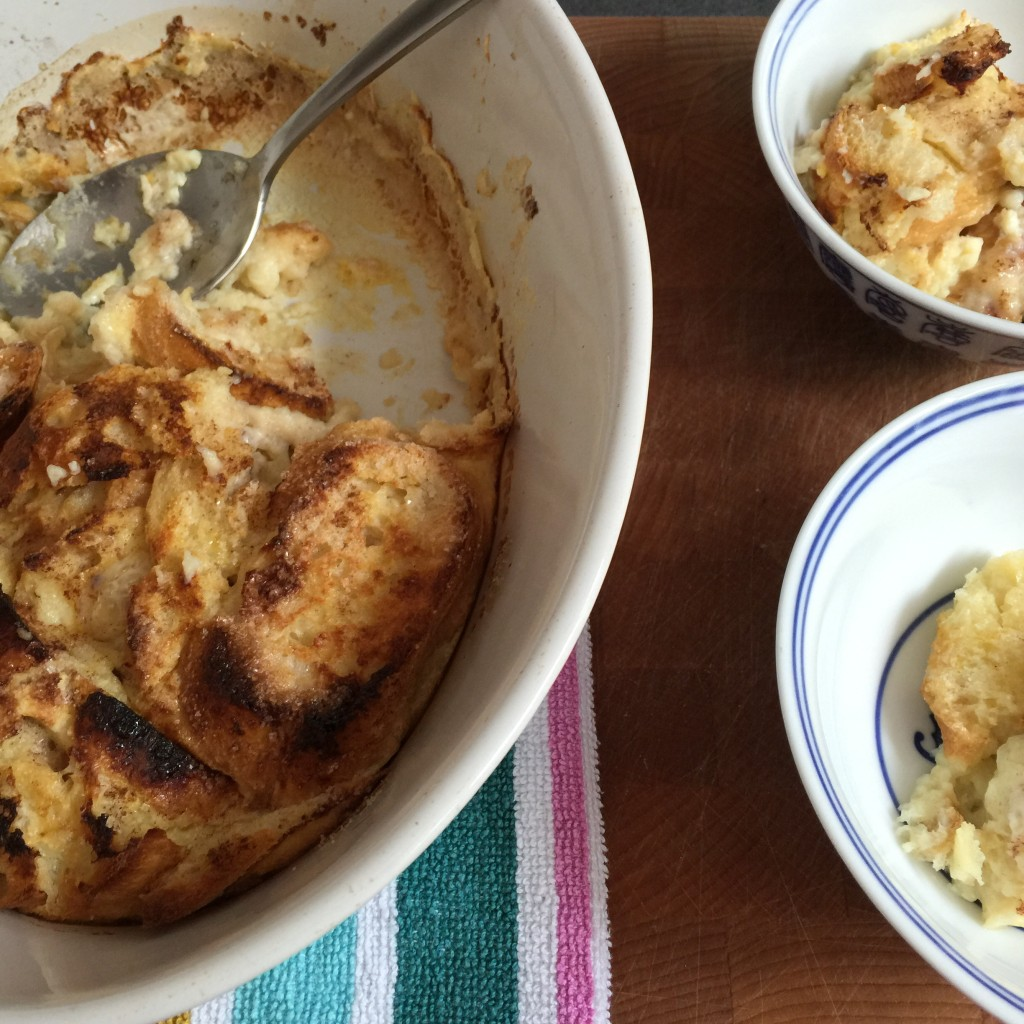 Bread pudding / Broodpudding // VAN BRITT