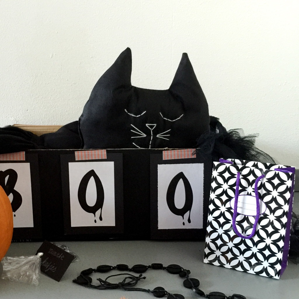Halloween kit / Halloween pakket, cadeau idee // VAN BRITT