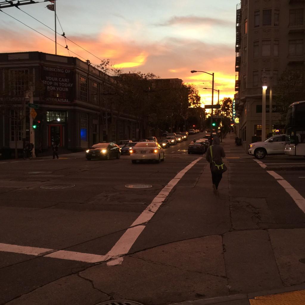 Sunset, San Francisco // photo: VAN BRITT