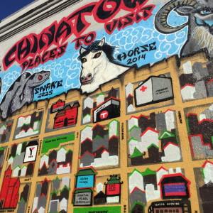 Street art, rock that wall, San Francisco, California // photo: VAN BRITT