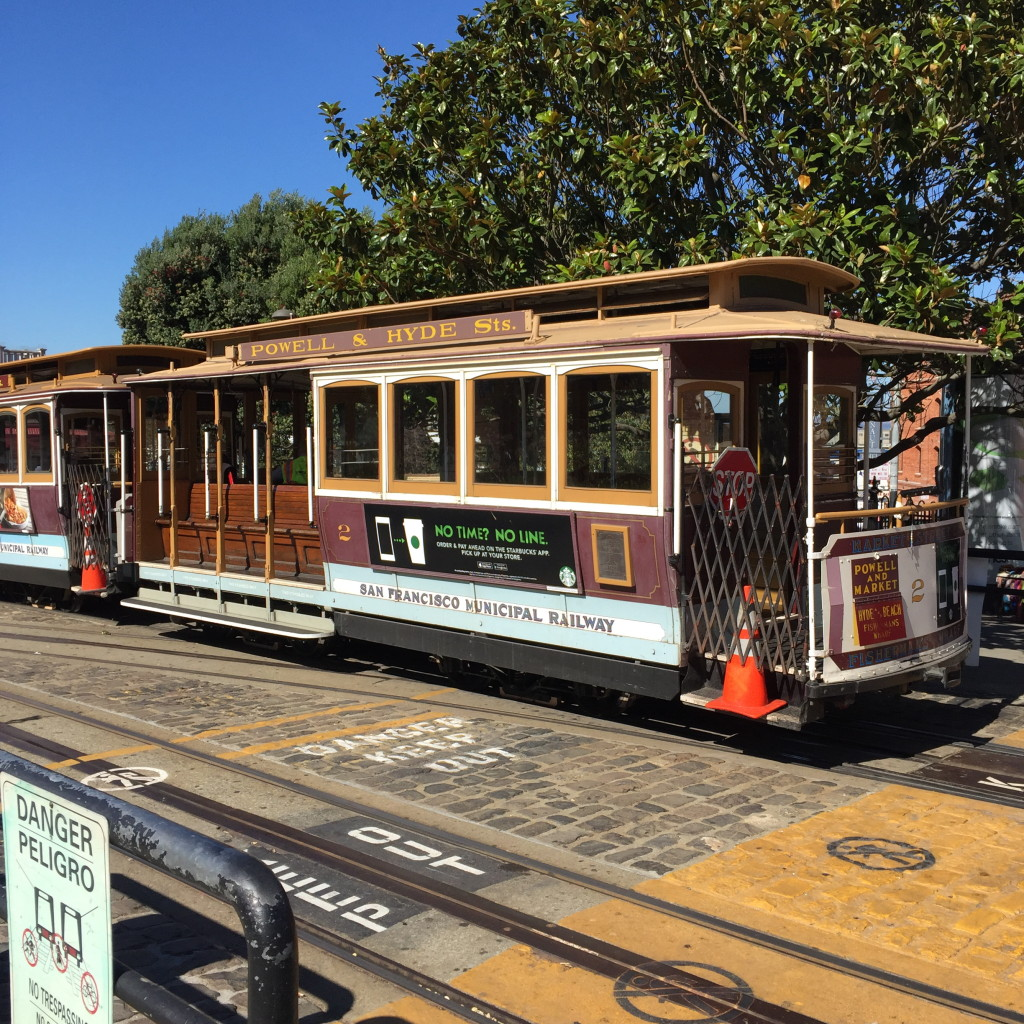 Cable car, San Francisco, California // photo: VAN BRITT