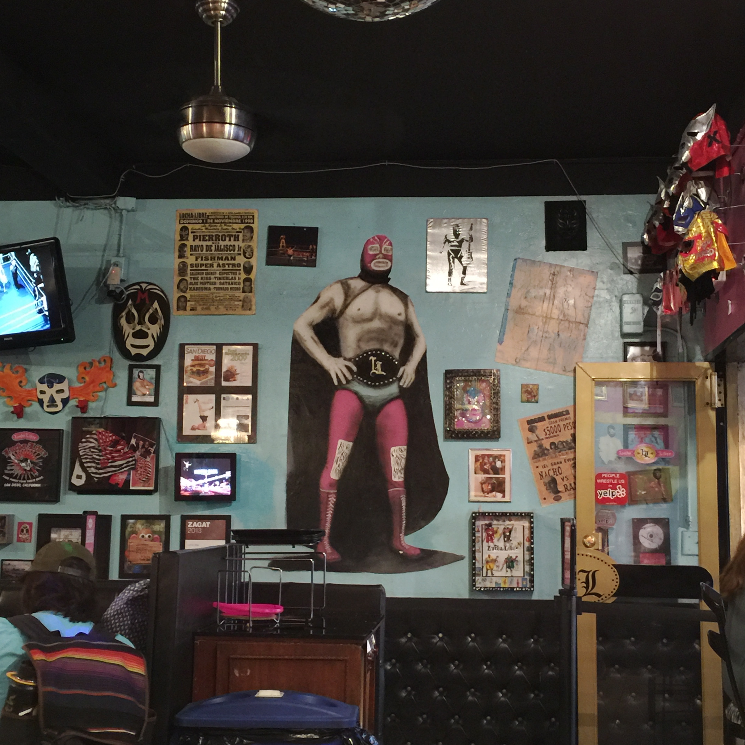 Lucha Libre, San Diego, California // photo: VAN BRITT