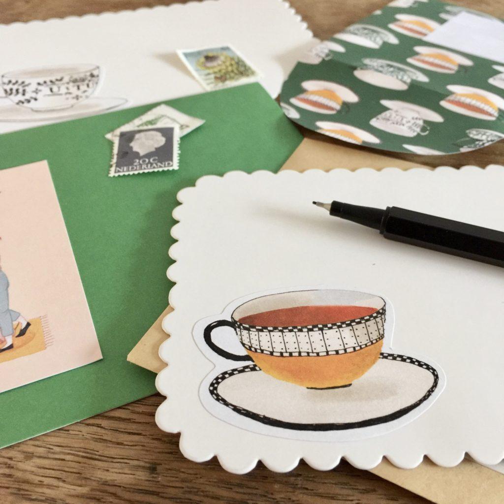 Uitnodigingen schrijven - VAN BRITT voor Bakkerij Van Heeswijk - High tea tips