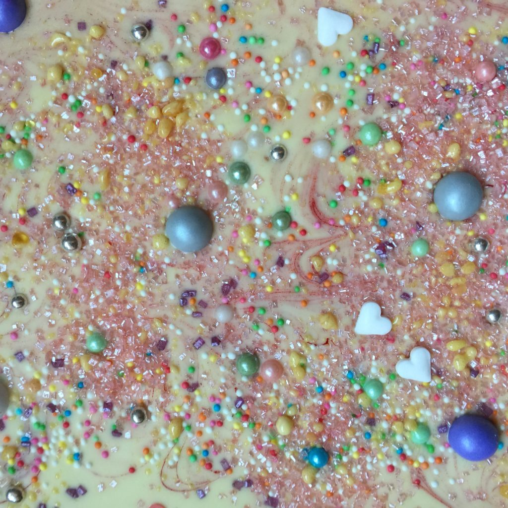 Mega glitter cake / Mega glitter taart // VAN BRITT