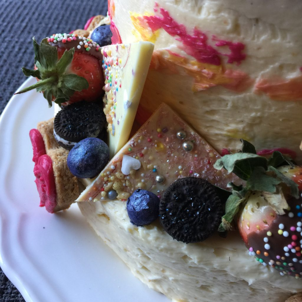 Mega glitter cake / Mega glitter taart // VAN BRITT