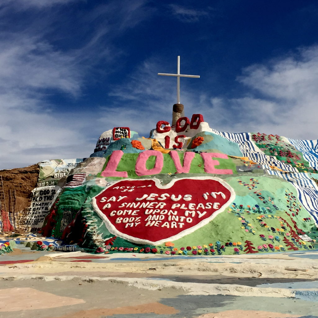 Salvation Mountain // VAN BRITT
